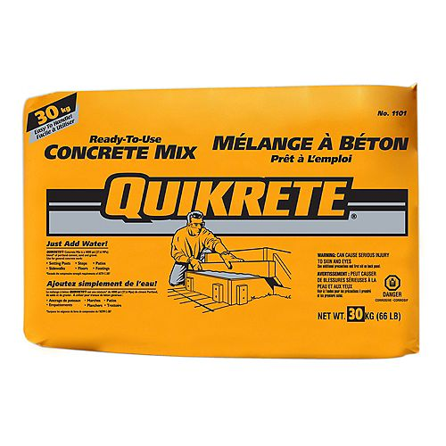 30kg Ready-to-Use Concrete Mix