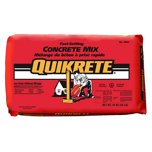 Quikrete Fast Setting Concrete Mix 30kg