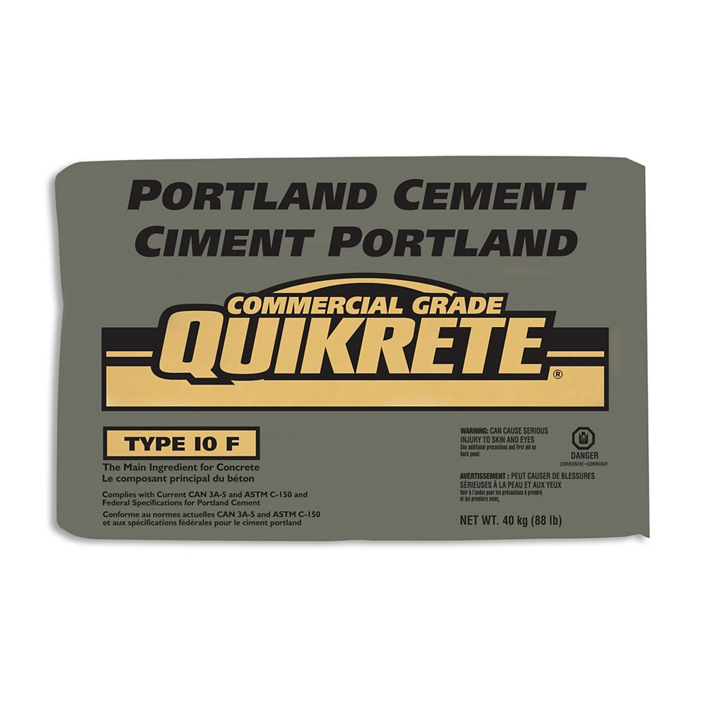 Quikrete Portland Cement 40kg The Home Depot Canada