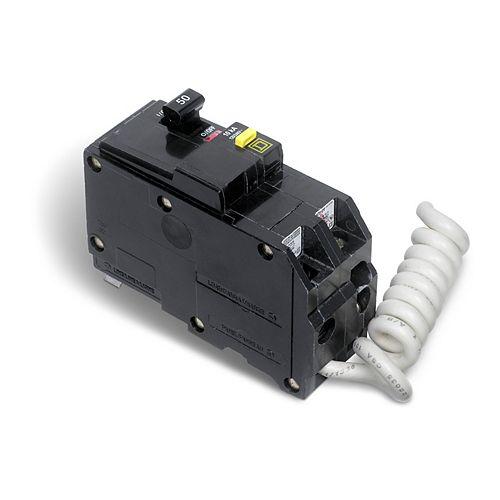 Double Pole 50 Amp QO GFCI Circuit Breaker