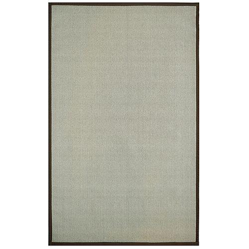 Beige Tan 8 ft. x 10 ft. Indoor Textured Rectangular Area Rug