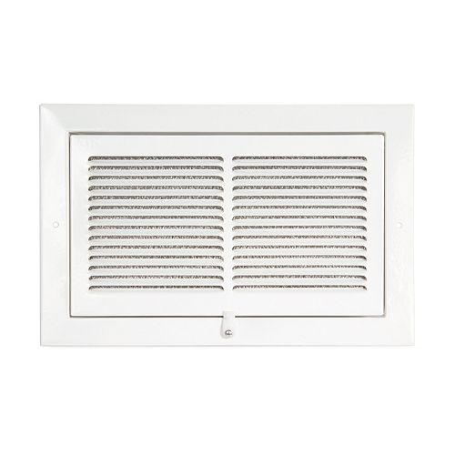 10  x 6  Sidewall Filter Grille - White
