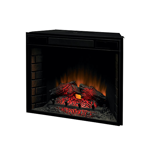 28-inch Electric Fireplace Insert