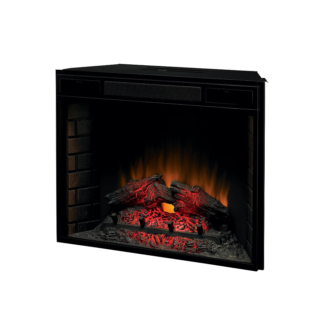 Chimney Free 28 Inch Electric Fireplace Insert The Home Depot Canada