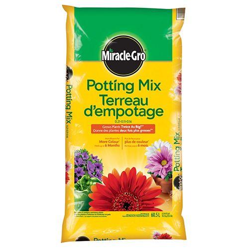 Potting Mix 0.21-0.11-0.16 - 60.5L