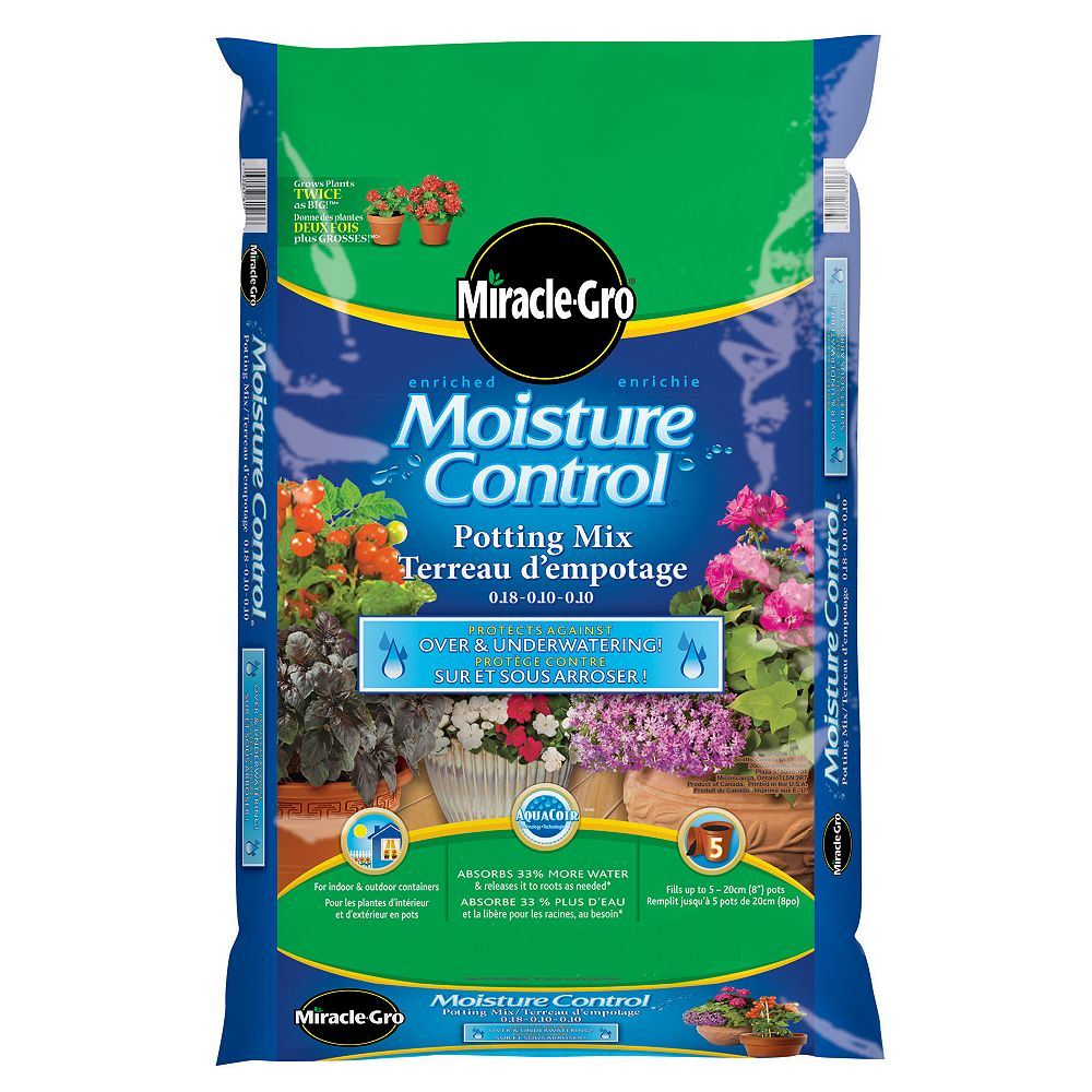 Miracle-Gro 27.5L Premium Moisture Control Potting Mix