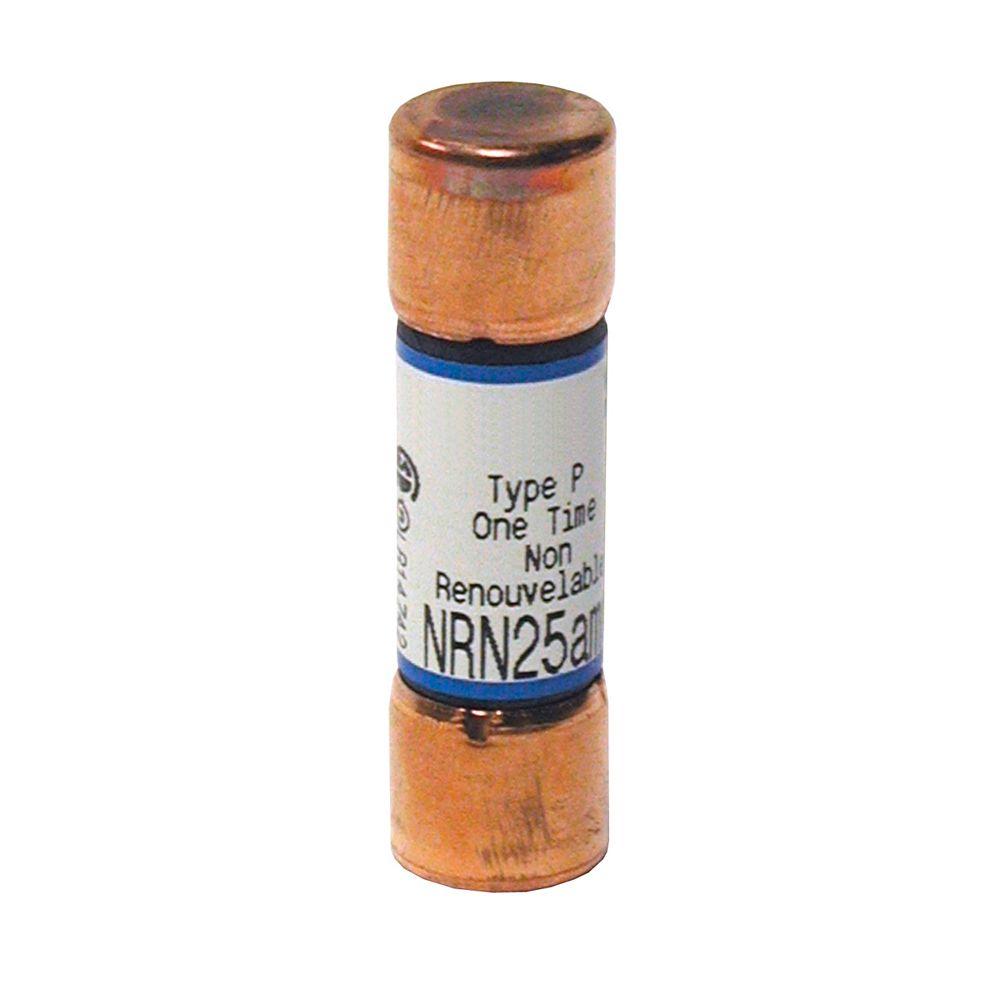 Leviton 25 Amp MP NRN Cartridge Fuse