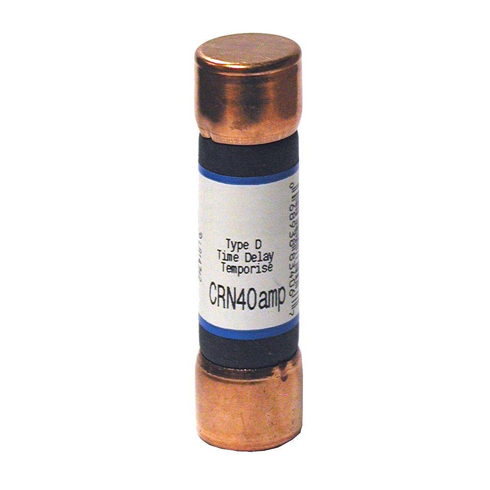 Leviton 40 Amp CRN Cartridge Fuse