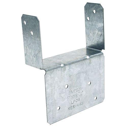 Chapiteau de poteau réglable 4x (ZMAX)