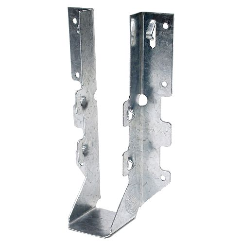 LUS ZMAX Galvanized Face-Mount Joist Hanger for 2x8
