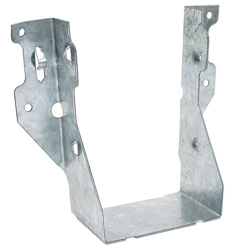 LUS ZMAX Galvanized Face-Mount Joist Hanger for Double 2x6