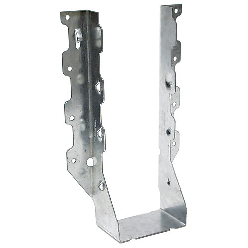 LUS ZMAX Galvanized Face-Mount Joist Hanger for Double 2x10