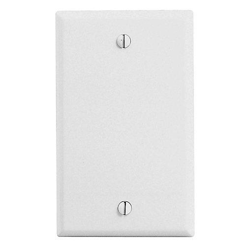 Blank Plate, White