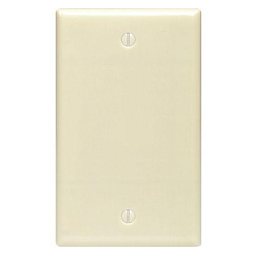 Plaque obturatrice simple, ivoire