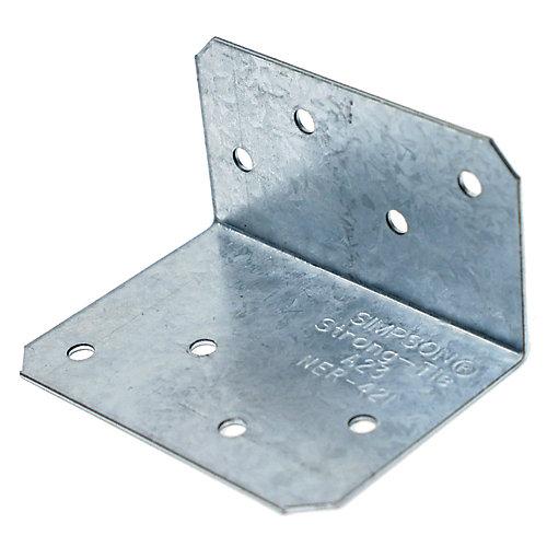 2 inch x 1-1/2 inch x 2-3/4 inch ZMAX Galvanized Angle