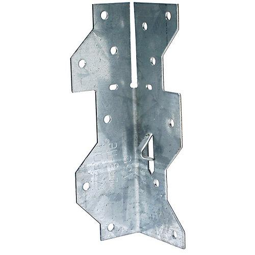 1-7/16 inch x 4-1/2 inch ZMAX Galvanized Framing Angle