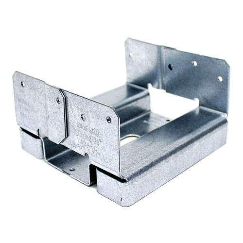 Simpson Strong-Tie ABA ZMAX Galvanized Adjustable Standoff Post Base for 6x6