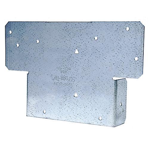 AC ZMAX Galvanized Adjustable Post Cap for 6x