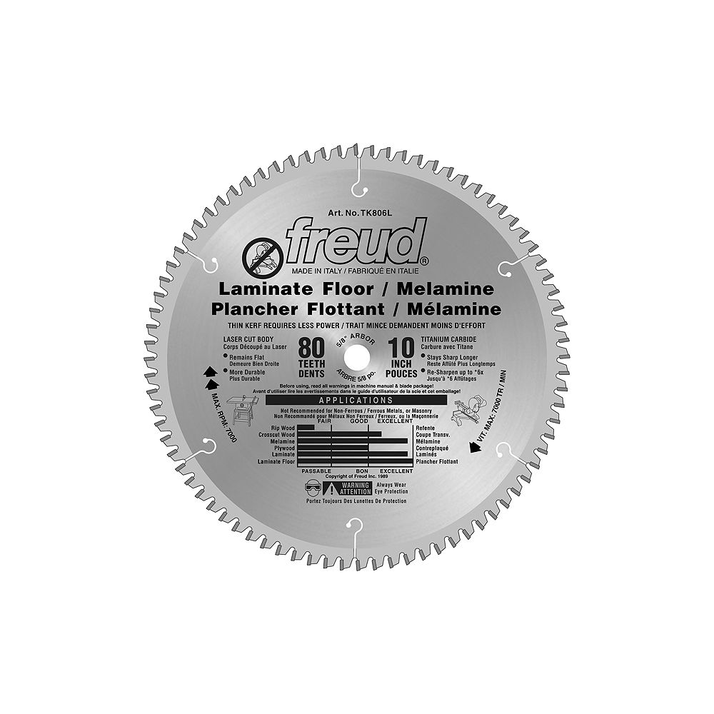 Circular Saw Blade For Laminate, What Type Of Saw Blade Is Best For Cutting Laminate Flooring