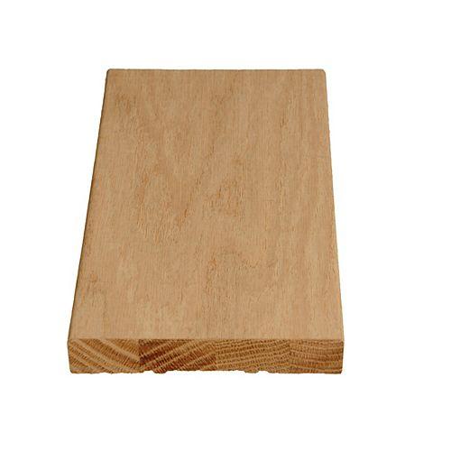 Alexandria Moulding Montant de porte plaqué de chêne 11/16 X 4 9/16
