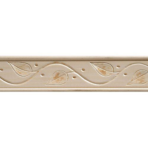 Alexandria Moulding 3/8-inch x 1-3/4-inch x 8 ft. Basswood Vine Decorative Moulding