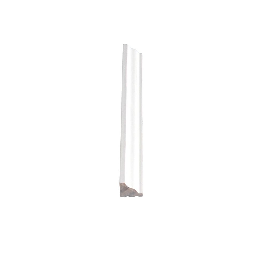 Alexandria Moulding Primed Finger Jointed Pine Crown 1/2 In. x 3/4 In. (Price per linear foot)