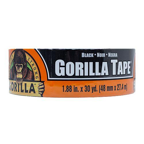 Ruban Gorilla, 1,8po x 105pi, noir