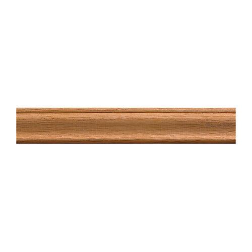 Moulure panneau en chêne de style colonial 3/8 po X 1-1/4 po - prix par pièce 8 pied
