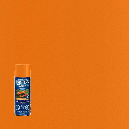 Peinture Multi Usages En Orange Lustré - 340 Aérosol
