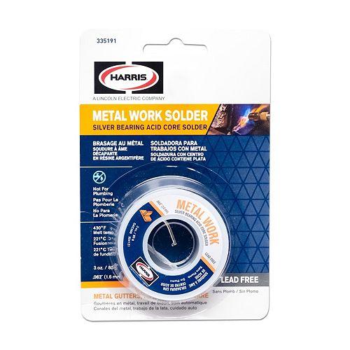 335191 3 Oz Metal Work Solder