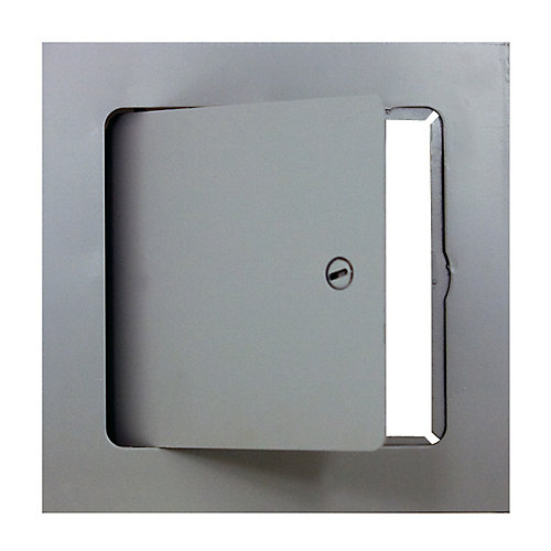ADM 24 - 24 po x 24 po Porte d'accès métallique de 24 po