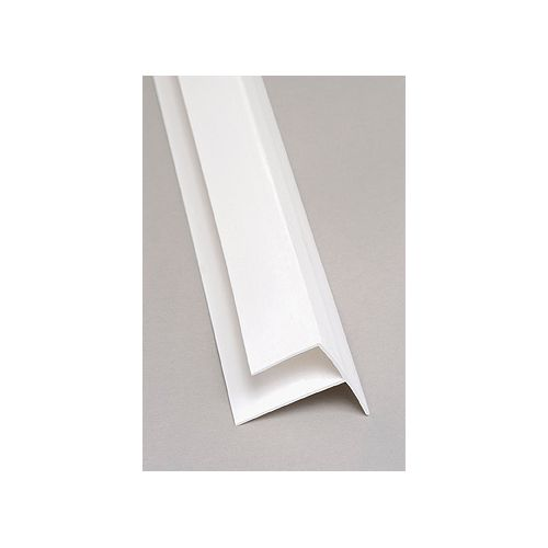 Outside Corner PVC White Moulding 8 Ft.