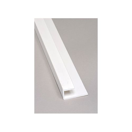 8FT Blanc Moulure de Embout