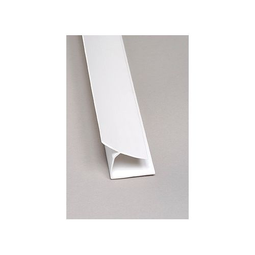 Inside Corner PVC White Moulding 8 Ft.