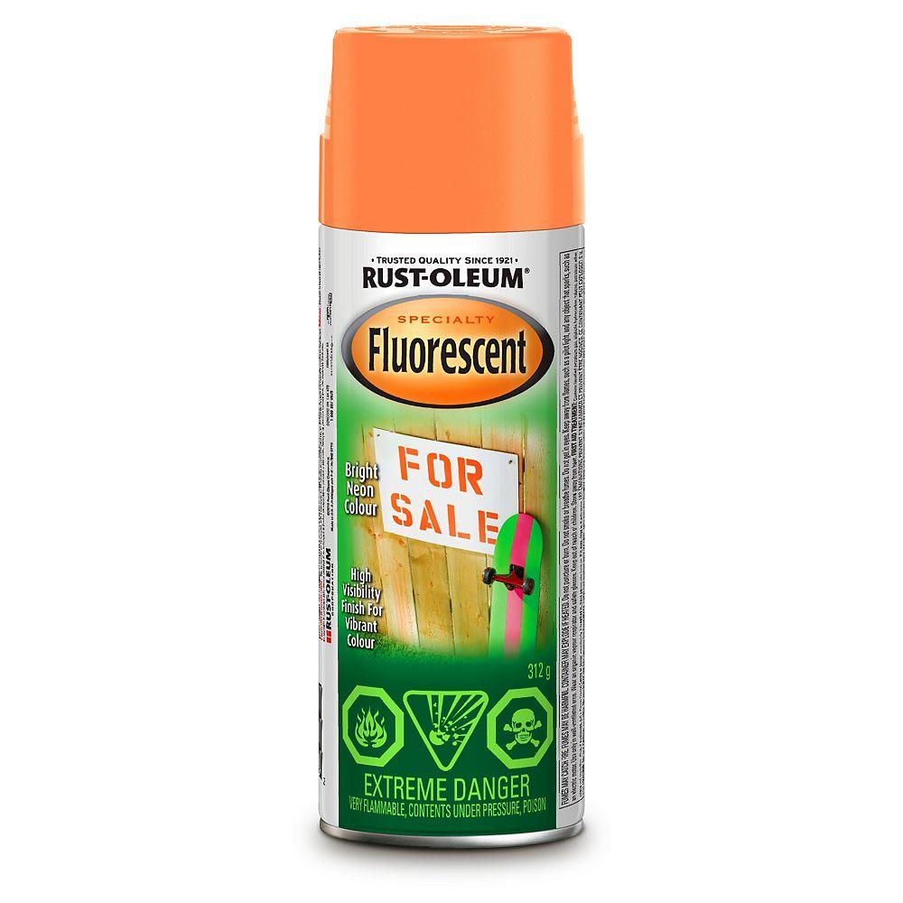 Rust-Oleum Specialty Peinture À Fini Fluorescent En Orange - 312 G