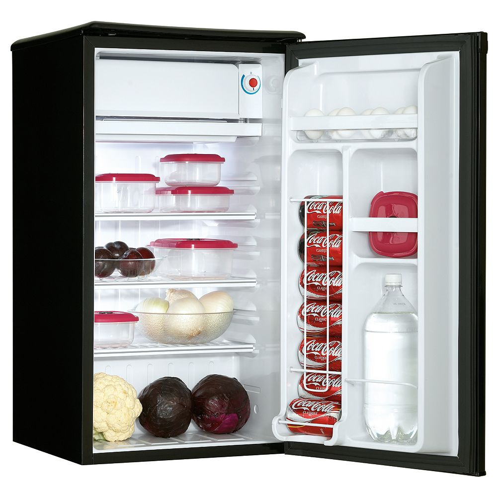 Danby Compact Refrigerator with Freezer  3.2 Cubic Feet