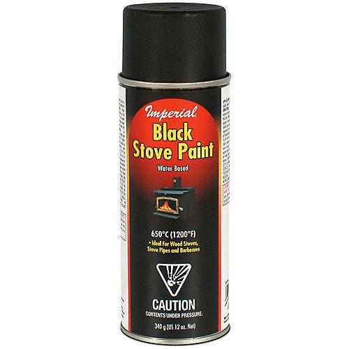 Stove Paint WB BLACK /340g