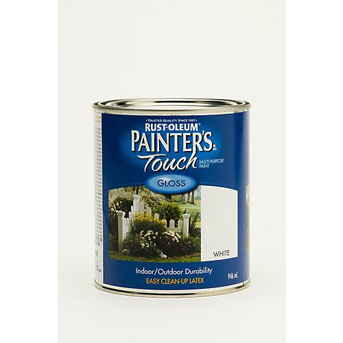 Peinture Tout Usage En Blanc Lustré - 946 Ml
