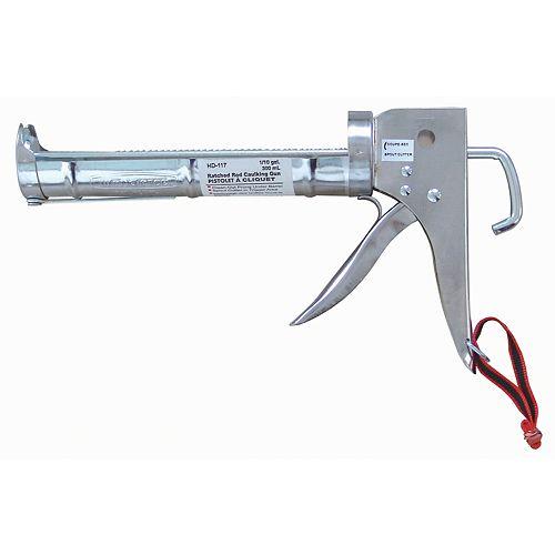 9 Inch Chrome Plated Caulking Gun