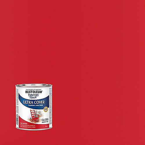 Peinture Tout Usage En Rouge Pomme Lustré - 946 Ml