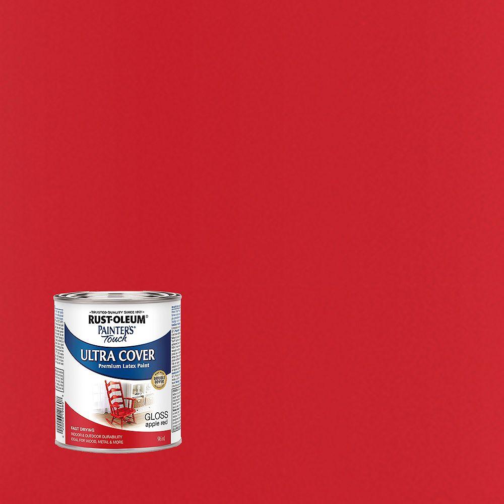 Rust-Oleum Painter's Touch Peinture Multi Usages En Rouge Pomme Lustré - 946 mL
