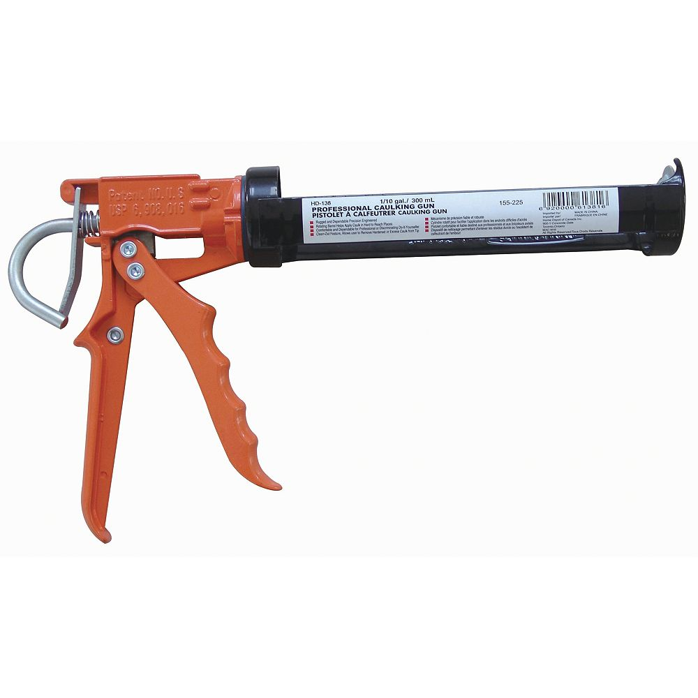 HDX 10 Oz. Tige Lisse Pistolet a Calfeutrer