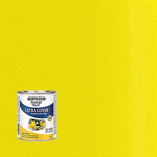 Peinture Tout Usage En Jaune Soleil Lustré - 946 Ml