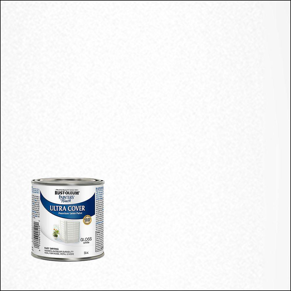 Rust-Oleum Painter's Touch Multi-Purpose Paint in Gloss White, 236 mL