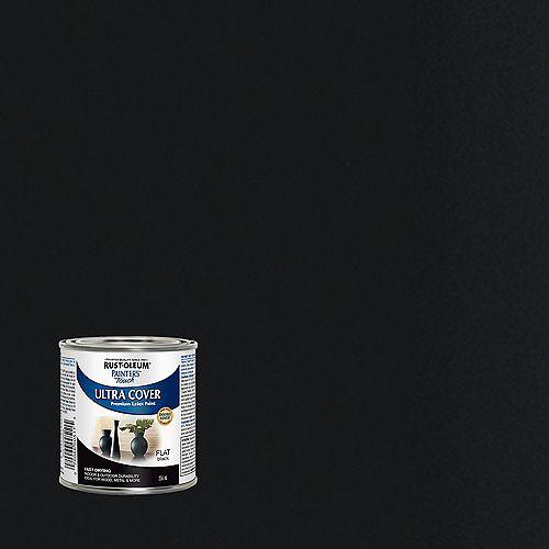 Rust-Oleum Painter's Touch Multi-Purpose Paint in Flat Black, 236 mL