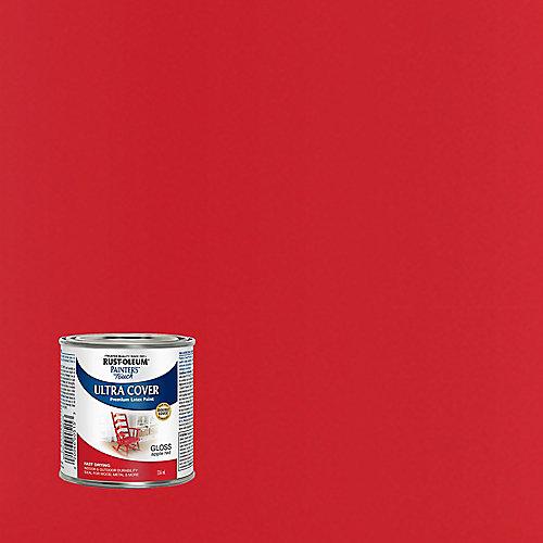 Peinture Tout Usage En Rouge Pomme Lustré - 236 Ml