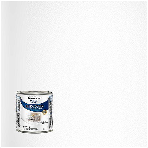 Peinture Multi Usages En Blanc Semi-Lustré - 236 mL