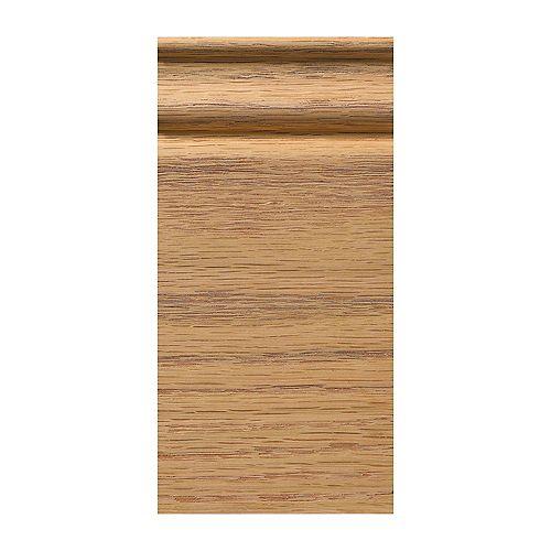 Ornamental Mouldings Bois de chêne de bloc de socle coloniale 3-1/4 x 6-1/2 po