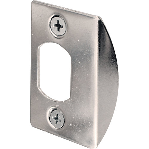 Chrome Dead Latch Jamb Strike