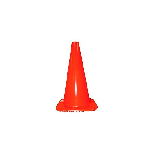 Traffic Cone 18 inches 3Lb Base Q